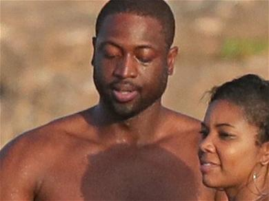 Gabrielle Union Channels '8th Grade Dance Vibes' With Dwyane Wade While Clad in Tiny Bikini