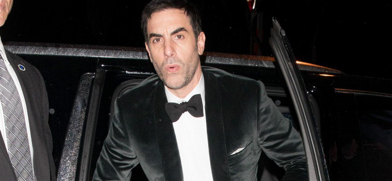 Sacha Baron Cohen Suing Cannabis Company For Unauthorized Use Of Borat