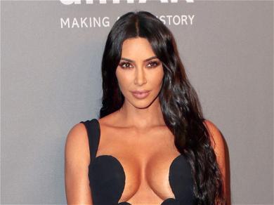Kim Kardashian Goes Naked In Her Bed Under A White Blanket: 'Good Morning Rome, Good Night LA'