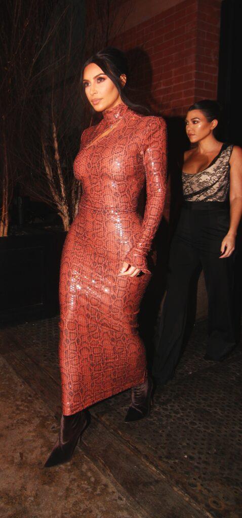 Kim Kardashian Stepping Out in NYC