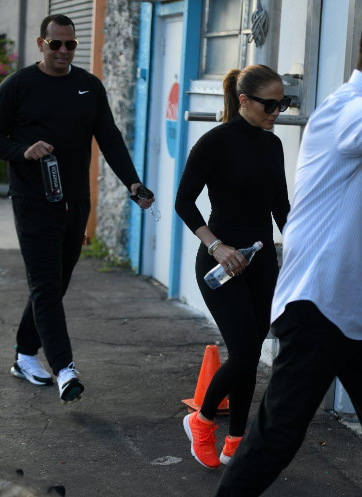 Jennifer Lopez and Alex Rodriguez go for a workout after celebrating her twin apos s birthday weekend