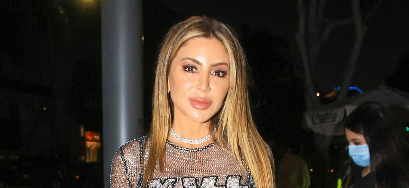Larsa Pippen Strips Down To White Lingerie While Lounging In Bed