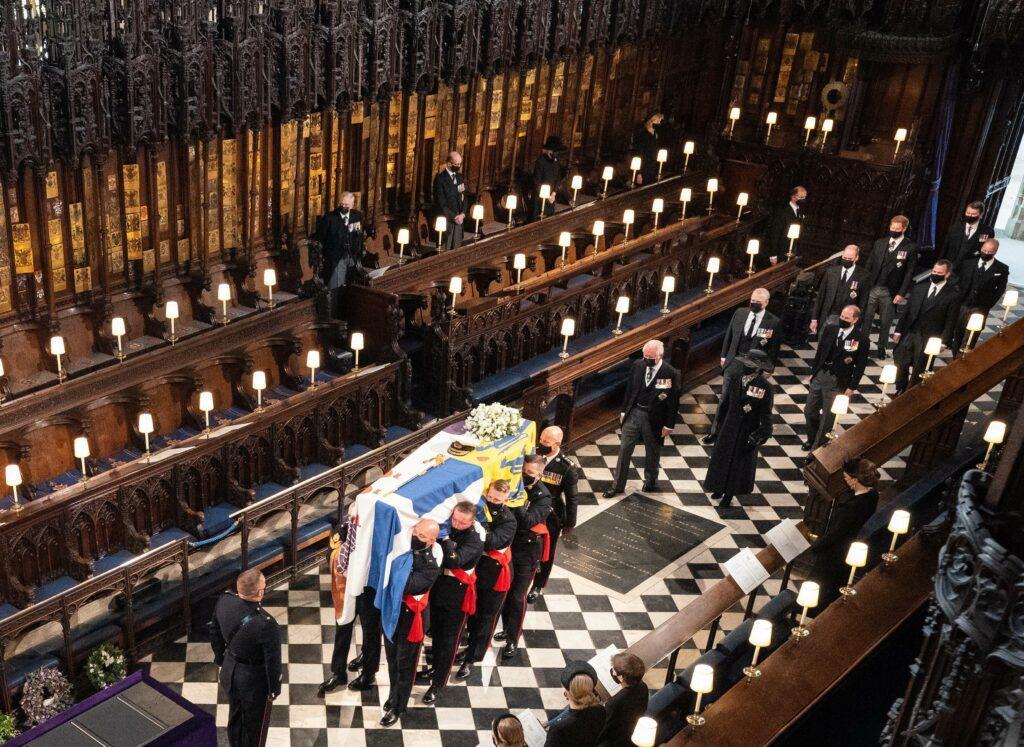 The Funeral of HRH Prince Philip The Duke of Edinburgh