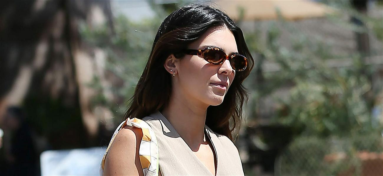 Kendall Jenner Stuns In Crop Top for French Riviera Photo Shoot