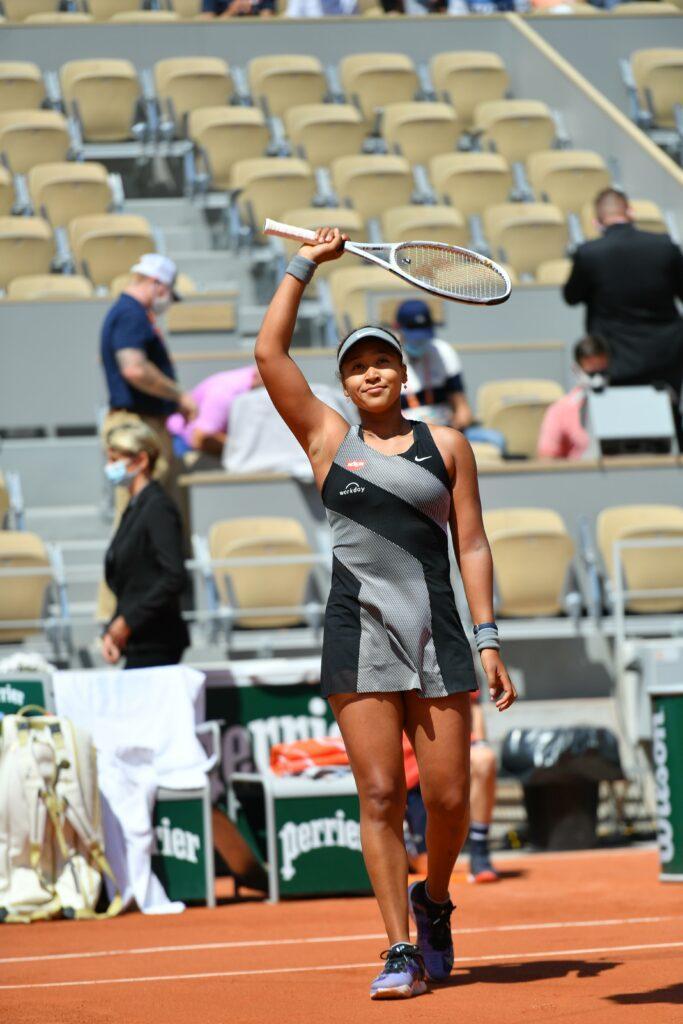 Naomi Osaka won her first match in Roland Garros 2021