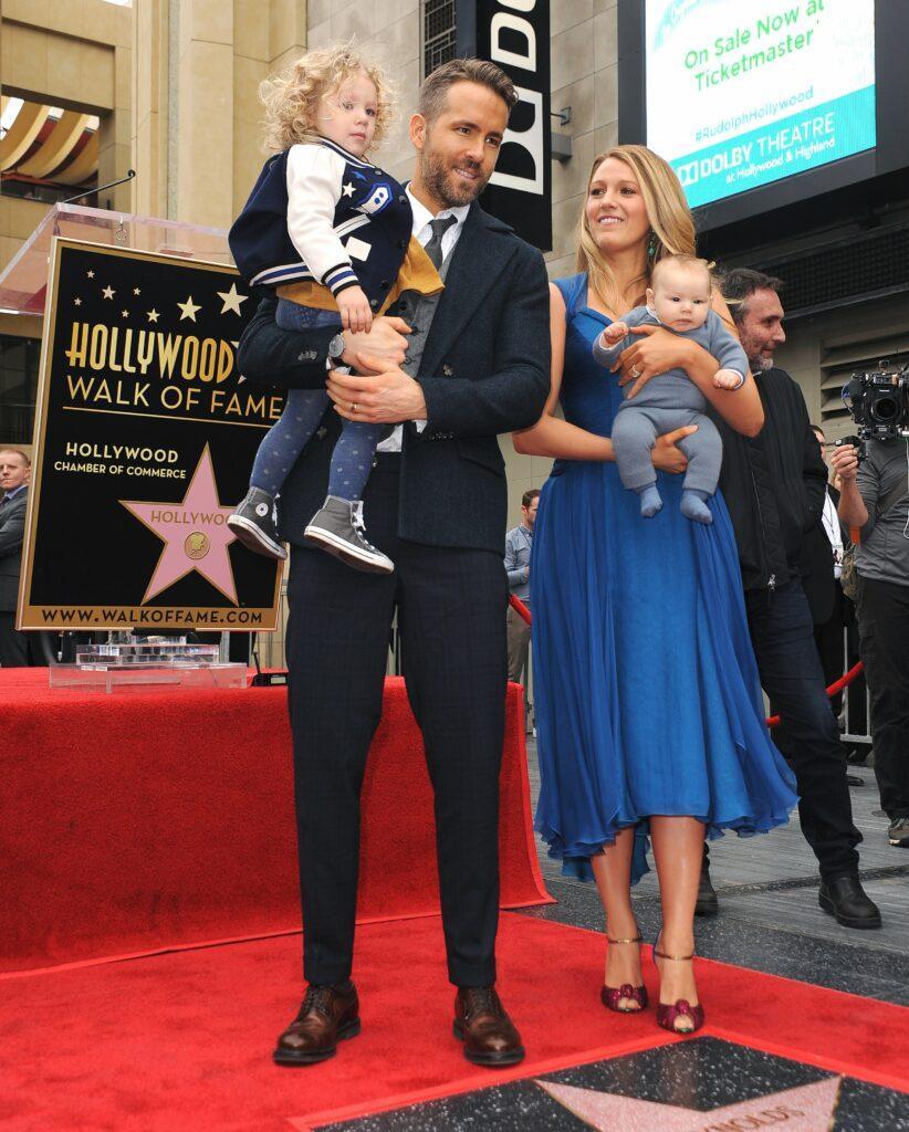 Ryan Reynolds Hollywood Star Ceremony
