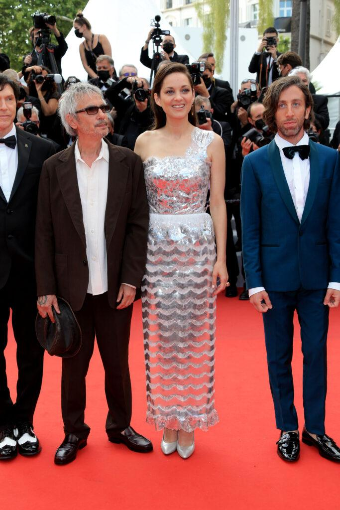 Opening ceremony Red carpet for jury the 74th annual Cannes Film Festival