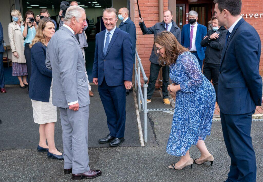 The Prince of Wales visited Riversimple