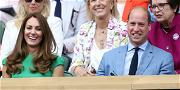 Kate Middleton Is Back At Wimbledon After COVID Scare