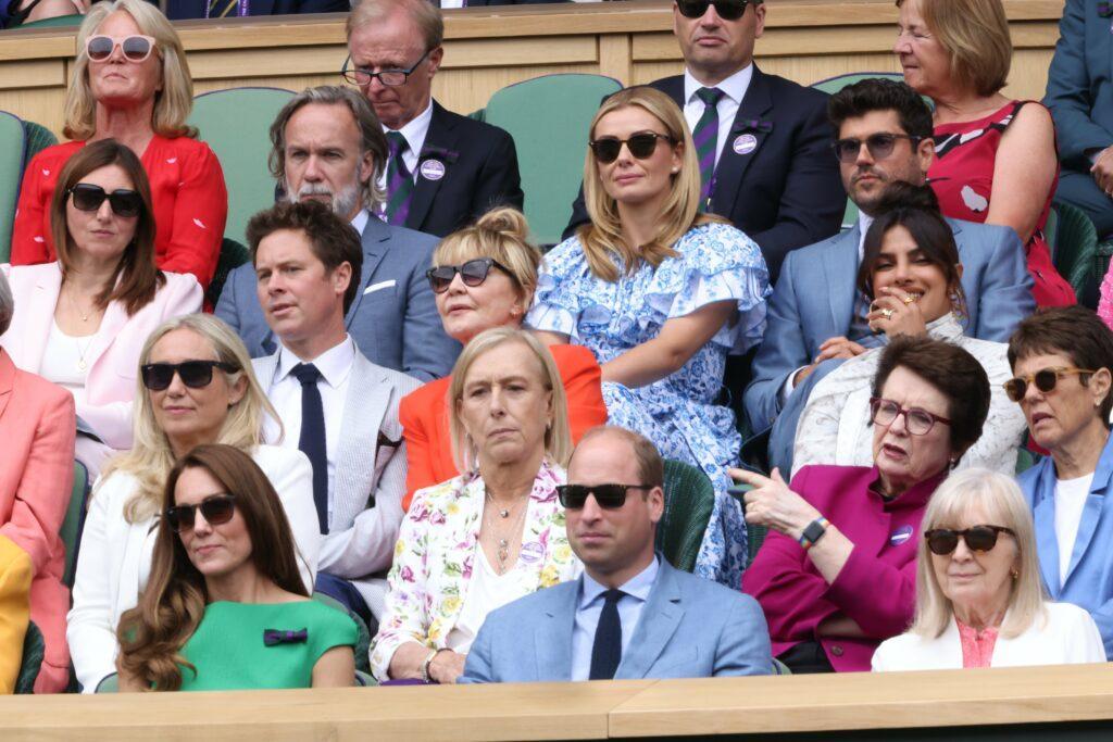 The Duke and Duchess of Cambridge at Wimbledon
