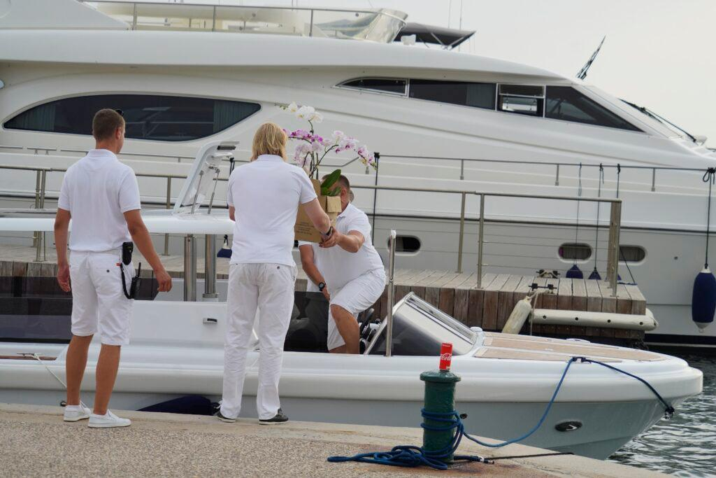 Jennifer Lopez celebrates her 52nd birthday on a luxury yacht in St-Tropez with Ben Affleck and family