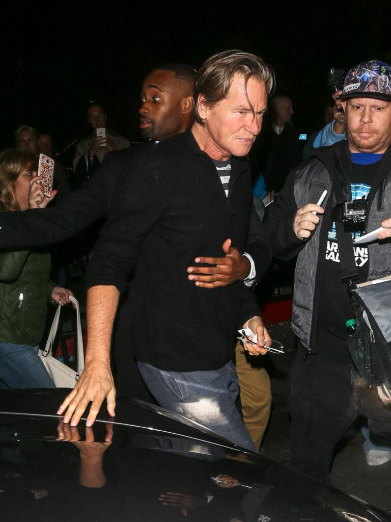 Stars attend the W Magazine Party in LA
