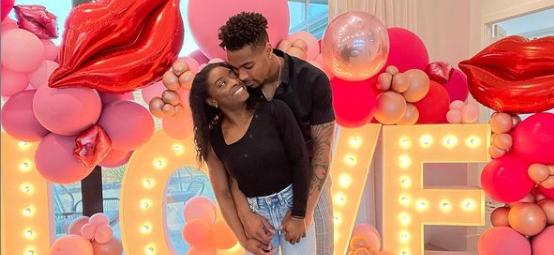 Simone Biles' Boyfriend Sends Love On Instagram During Difficult Time