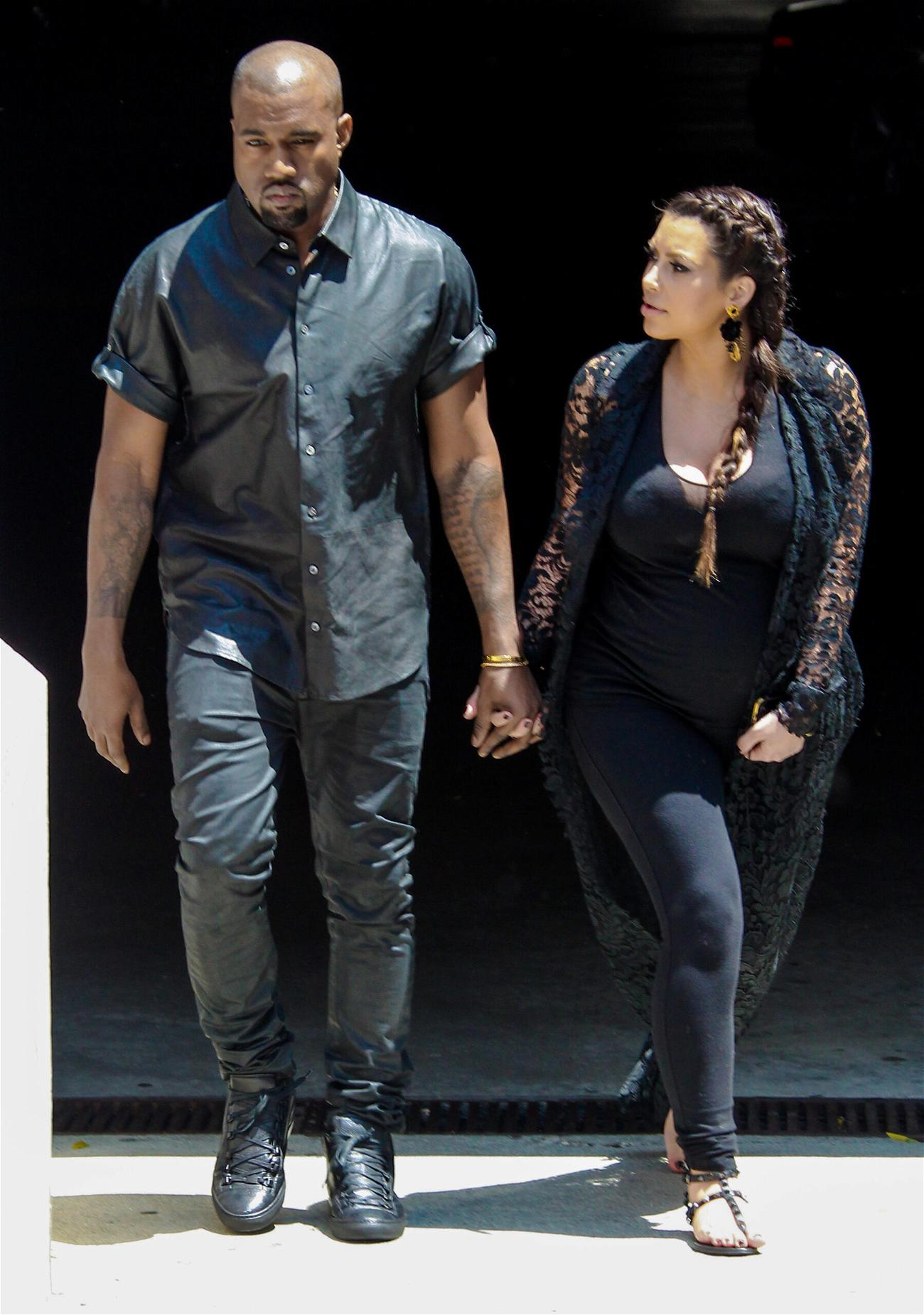 Kanye West And Kim Kardashian Take Family Vacation Amid Divorce