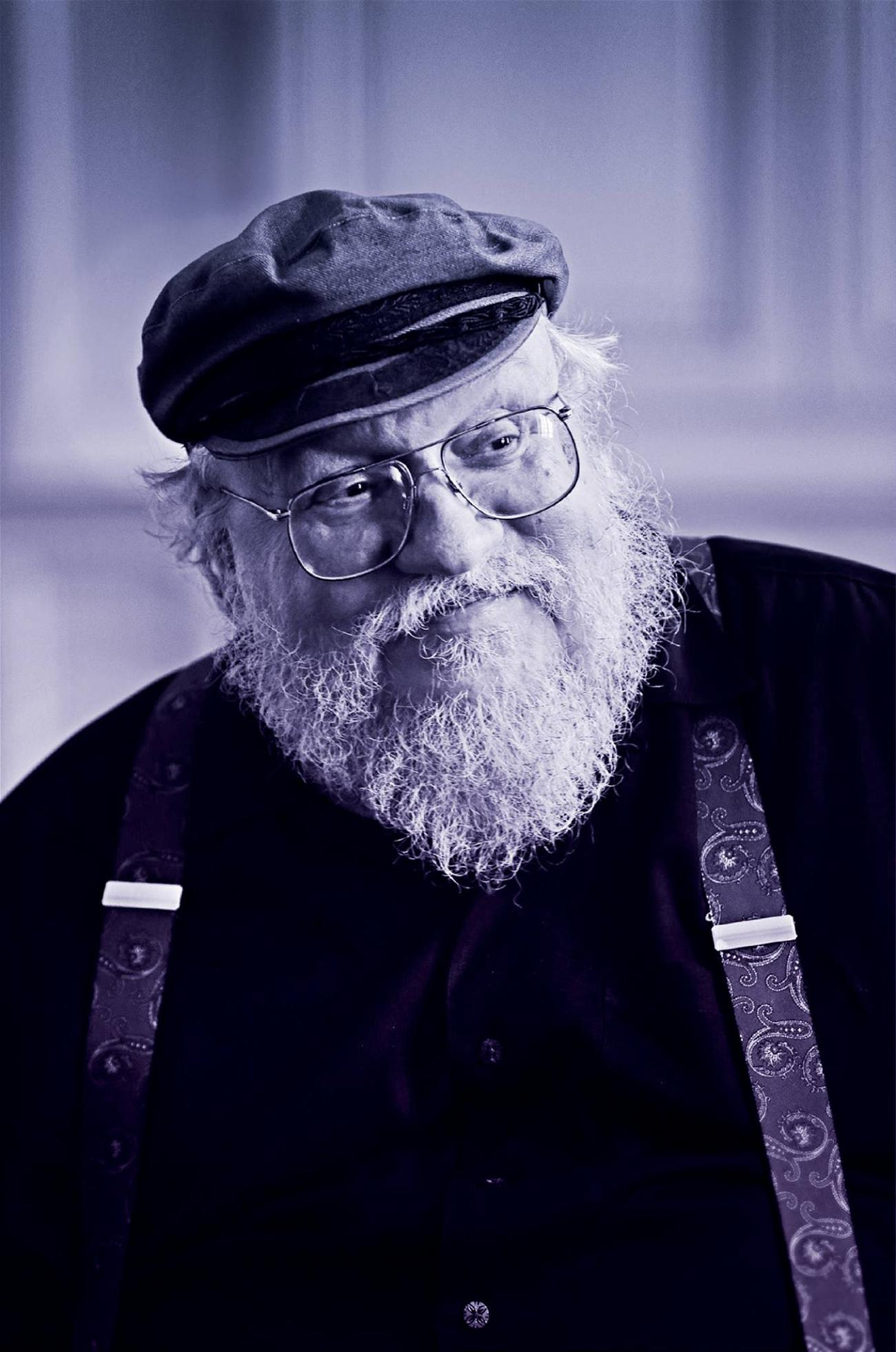 A photo of George RR Martin