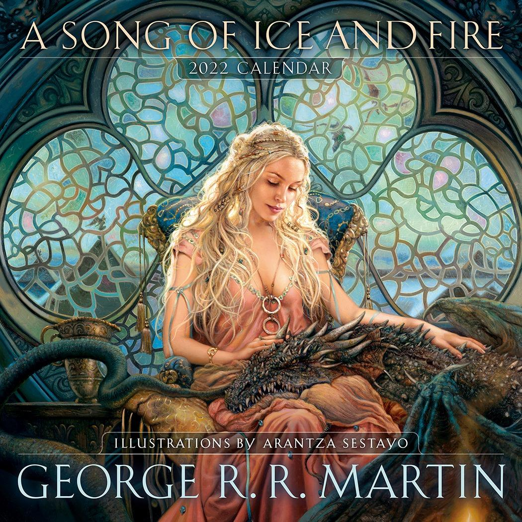 A cover photo for George RR Martin's novel