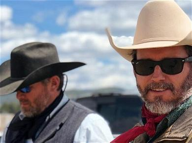 Kelly Clarkson's Ex-Husband Seen Branding Cattle, Living the Ranch Life Amid War Over Montana Property