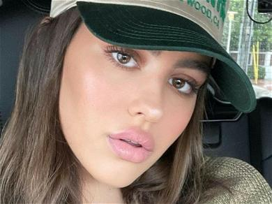 Amelia Hamlin Gets Behind The Wheel In Sexy Lingerie: 'Your Uber Has Arrived'