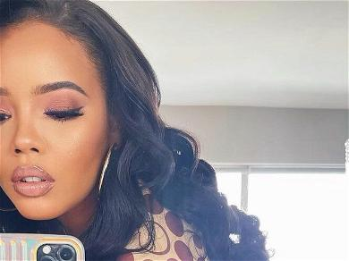 Angela Simmons Outdoes Herself In Tight Coco Bodysuit For Stunning Selfie; 'Me VS Me'