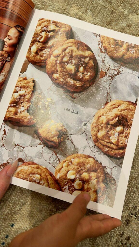 """A photo of cookies and """"For Jack"""" written in the middle"""