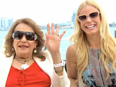 'Real Housewives Of Miami' Alexia Echevarria's Mom Dies On Her Wedding Day After Covid Battle