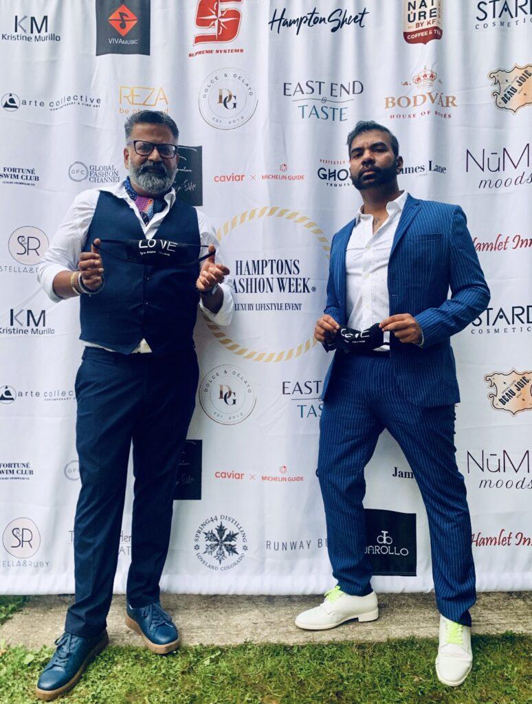 Dr. Rajeev Fernando at Hampton's event