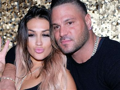 'Jersey Shore' Star Ronnie Ortiz-Magro's Ex Charged With Domestic Assault