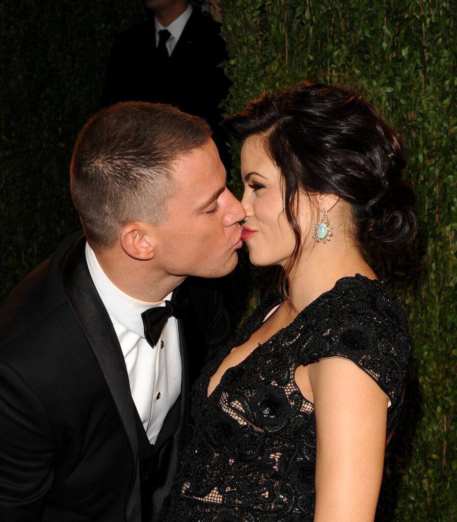 Channing Tatum Kissing Jenna Dewan