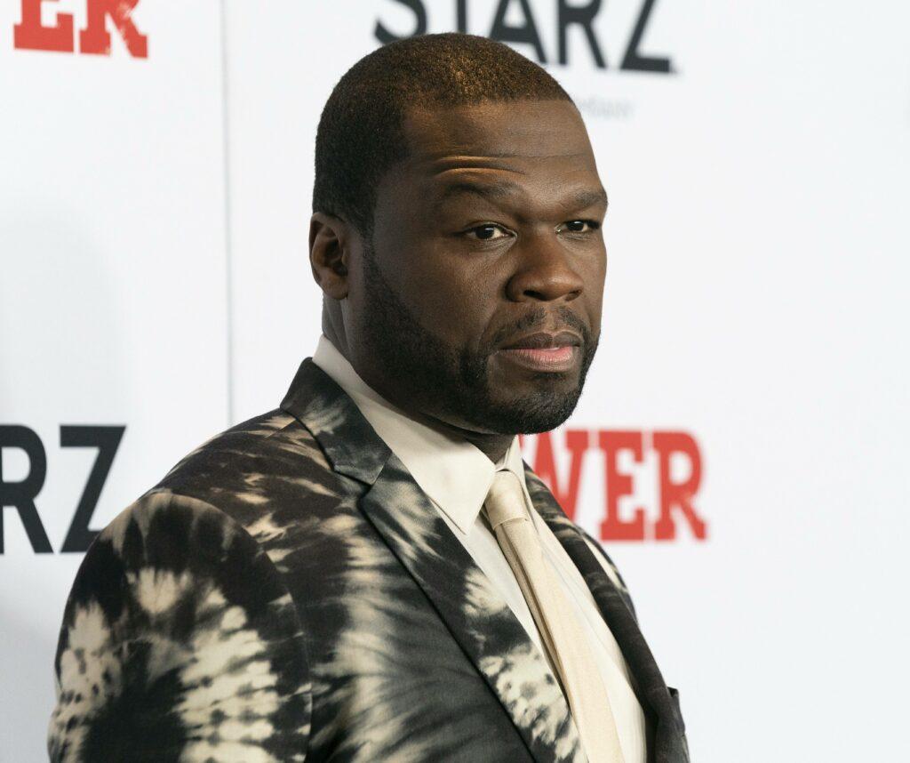 """Curtis """"50 Cent"""" Jackson STARZ Power Season 6 premiere"""