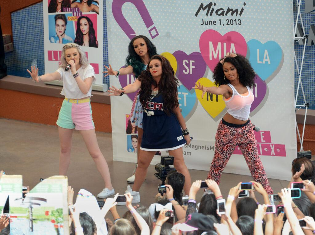 Little Mix in their early days