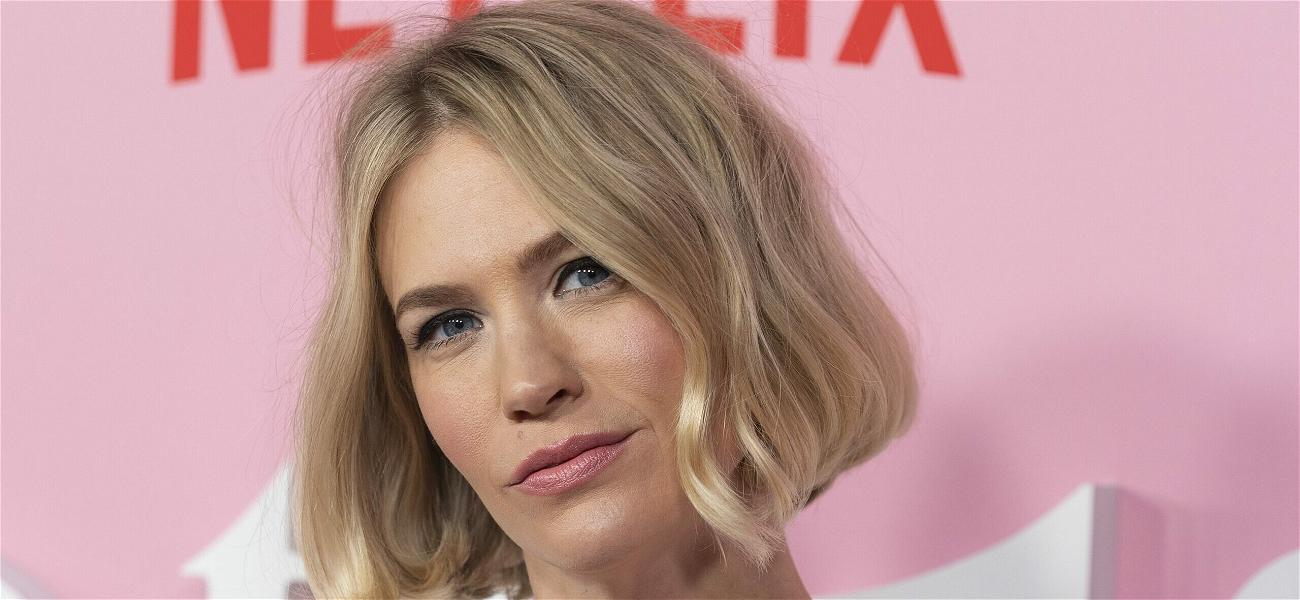 January Jones Jokes About Getting Some Of Paul Rudd's Blood After His Youthful Look Goes Viral