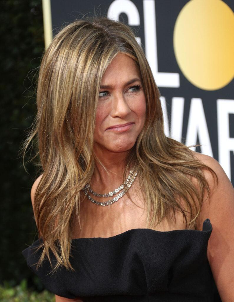 Jennifer Aniston at the 77th Annual Golden Globe Awards - Arrivals