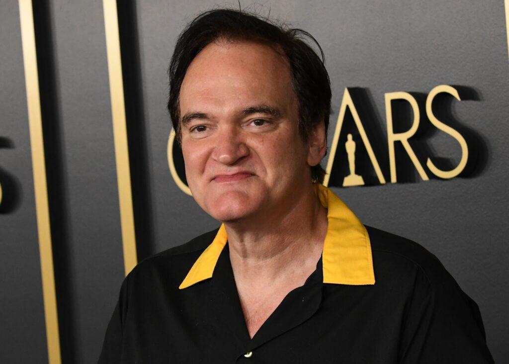Quentin Tarantino at the Oscars