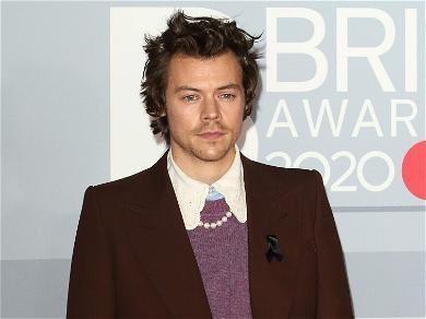 Olivia Wilde Attends Concert In Las Vegas To Support Harry Styles
