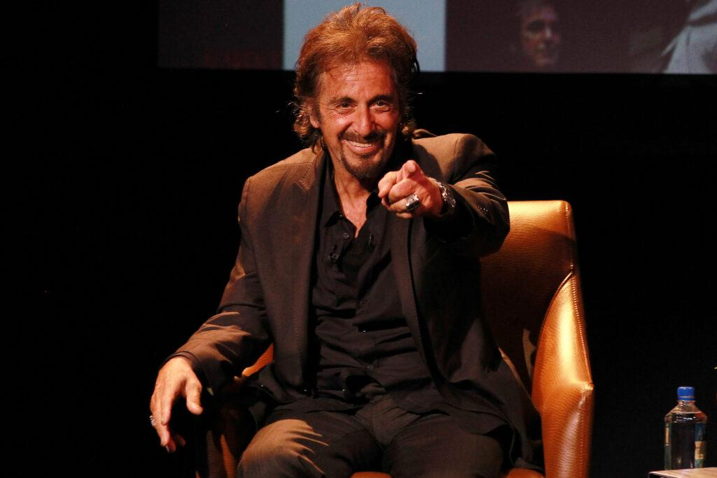 """Al Pacino performs """"Pacino One Night Only"""" for an intimate crowd at the Seminole Hard Rock Hotel & Casino Hollywood on April 24, 2013"""