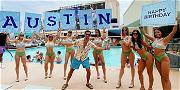 'Outer Banks' Star Austin North Embraces Pogue Life for Vegas Birthday Bash