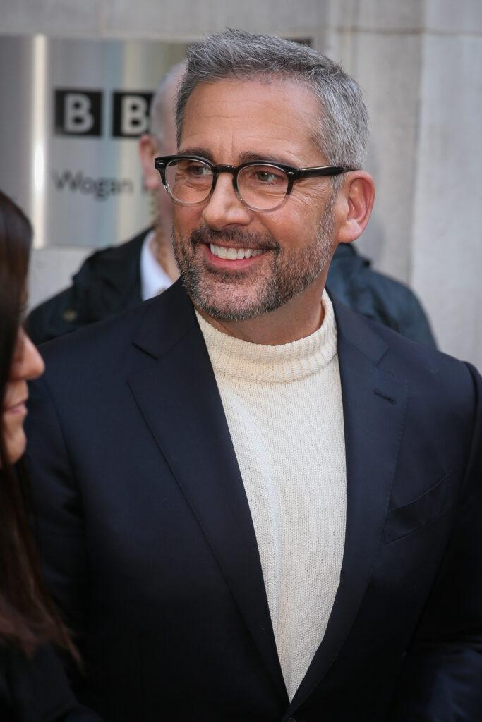 Steve Carell visiting BBC Radio Two Studios to promote his new film Welcome To Marween - London