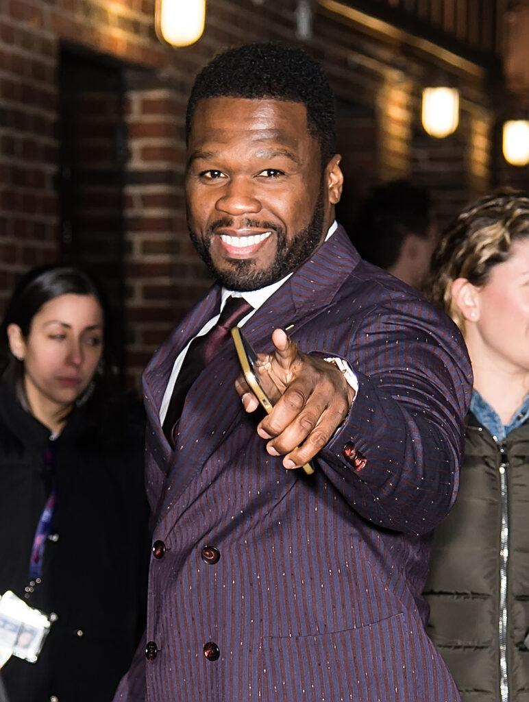 Kevin Hart 50 Cent and Nicole Byer visit the apos The Late Show With Stephen Colbert apos in New York City