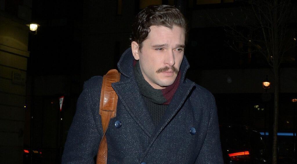 Kit Harrington Seen At BBC Radio Studios