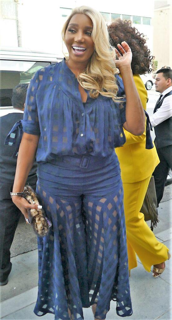 RHOATL Nene Leakes Arrival To Andy Cohen apos s Baby Shower