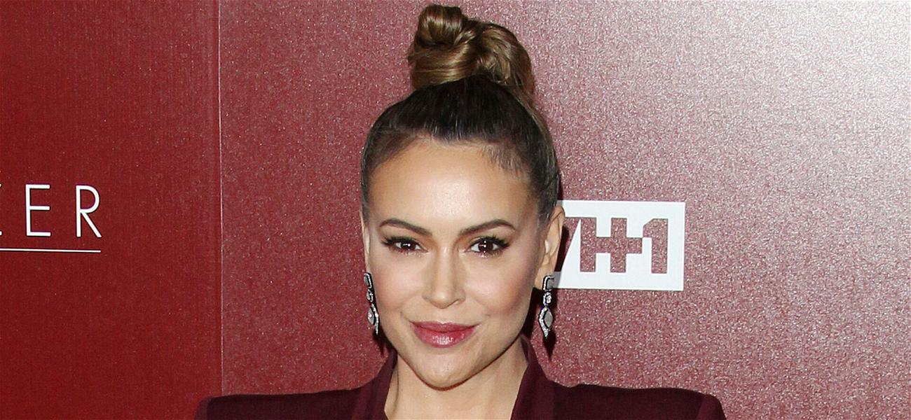 Alyssa Milano's Uncle Still On Life Support After Car Accident Caused By Heart Attack