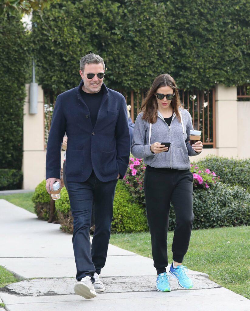 Ben Affleck and Jennifer garner out together in Santa Monica