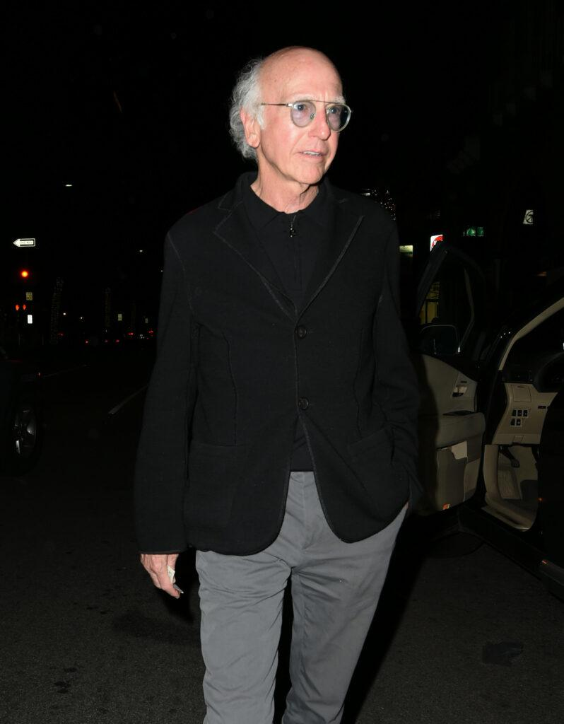 Larry David out and about one LA