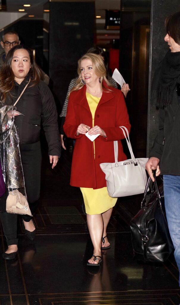Melissa Joan Hart at NBC Studios