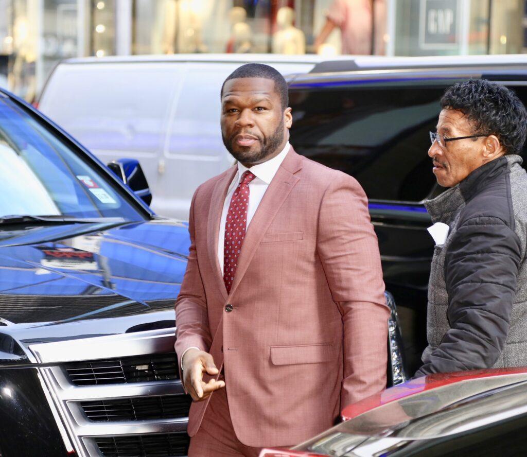 Curtis James Jackson III aka 50 Cent at Good Morning America