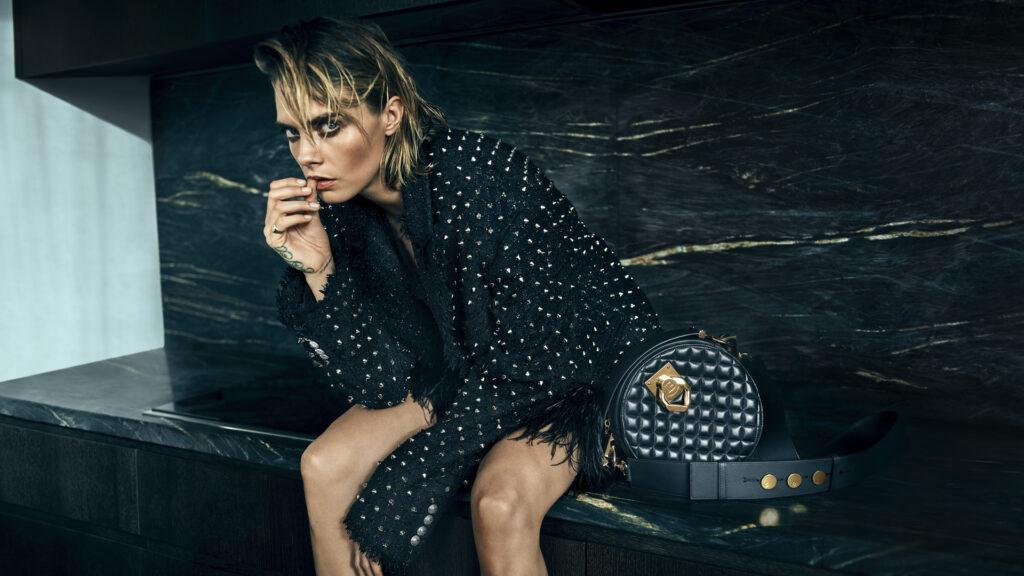 Cara Delevingne stars in new Balmain bag campaign