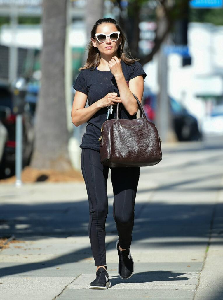 Rachael Leigh Cook out and about