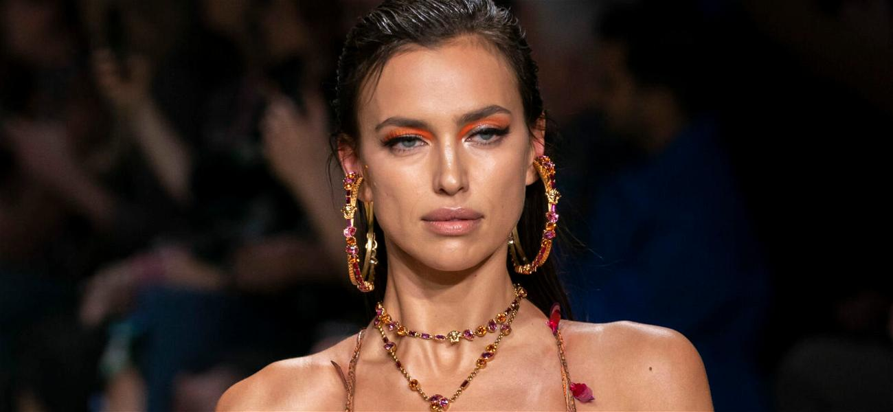Irina Shayk Drops Jaws In A Neon Green Bikini & Black Over-The-Knee Boots In Steamy Vacation Snaps