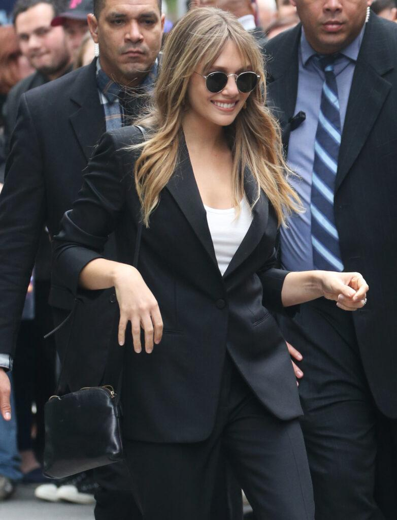 Elizabeth Olsen out and about in New York City