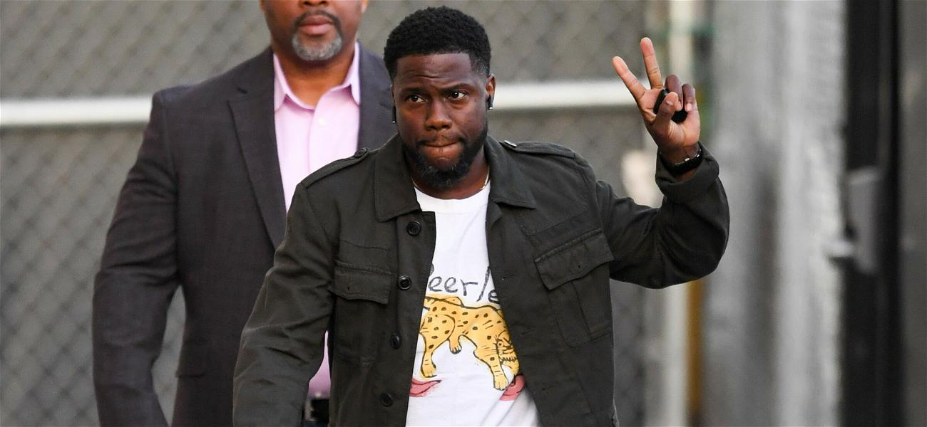 Kevin Hart Hilariously Crashes Usher's Vegas Performance, Puts On His Own Show